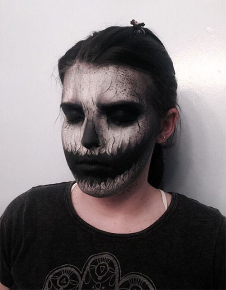 15-Scariest-Halloween-Skull-Makeup-Looks-Ideas-2015-9
