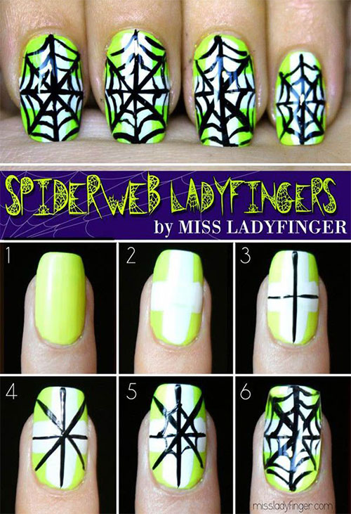 15-Simple-Step-By-Step-Halloween-Nail-Art-Tutorials-2015-For-Beginners-1