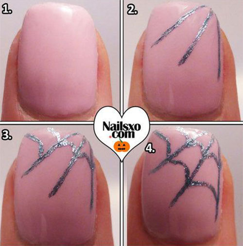 15-Simple-Step-By-Step-Halloween-Nail-Art-Tutorials-2015-For-Beginners-13