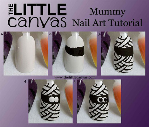 15-Simple-Step-By-Step-Halloween-Nail-Art-Tutorials-2015-For-Beginners-6