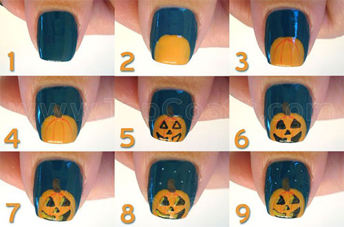 15-Simple-Step-By-Step-Halloween-Nail-Art-Tutorials-2015-For-Beginners-7