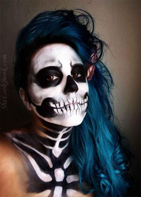 18-Amazing-Halloween-Skull-Makeup-Styles-Ideas-Looks-2015-14