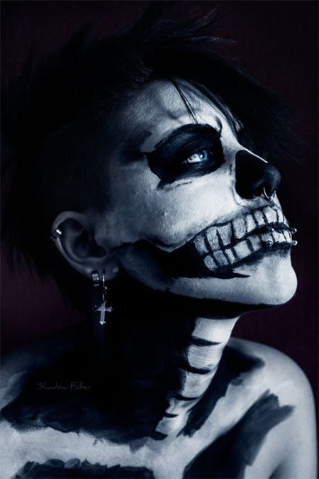 18-Amazing-Halloween-Skull-Makeup-Styles-Ideas-Looks-2015-16