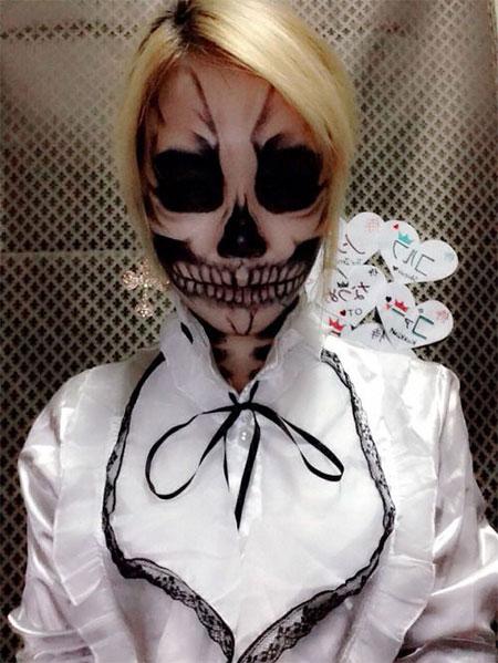 18-Amazing-Halloween-Skull-Makeup-Styles-Ideas-Looks-2015-5