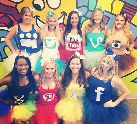 18-Best-Halloween-Costume-Ideas-For-Group-Of-  sc 1 st  Modern Fashion Blog & 18 Best Halloween Costume Ideas For Group Of Girls 2015 | Modern ...