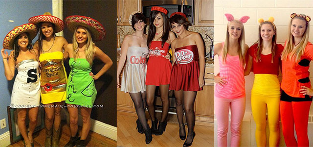 18 Best Halloween Costume Ideas For Group Of Girls 2015  sc 1 st  Modern Fashion Blog & 18 Best Halloween Costume Ideas For Group Of Girls 2015 | Modern ...