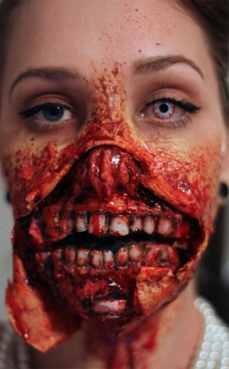 18-Very-Scary-Zombie-Makeup-Styles-Looks-Ideas-2015-For-Halloween-1