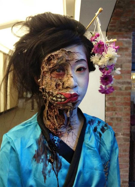 18-Very-Scary-Zombie-Makeup-Styles-Looks-Ideas-2015-For-Halloween-13
