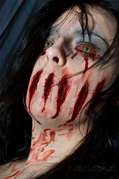 18-Very-Scary-Zombie-Makeup-Styles-Looks-Ideas-2015-For-Halloween-17