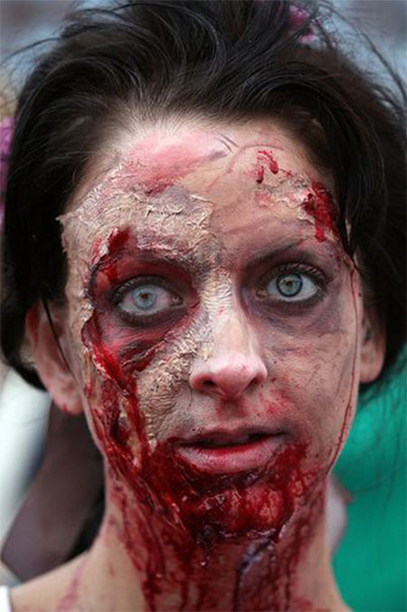 18-Very-Scary-Zombie-Makeup-Styles-Looks-Ideas-2015-For-Halloween-2