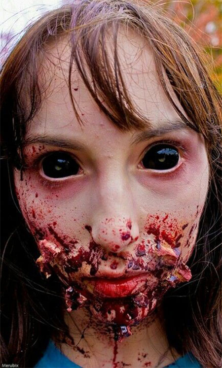 18-Very-Scary-Zombie-Makeup-Styles-Looks-Ideas-2015-For-Halloween-3