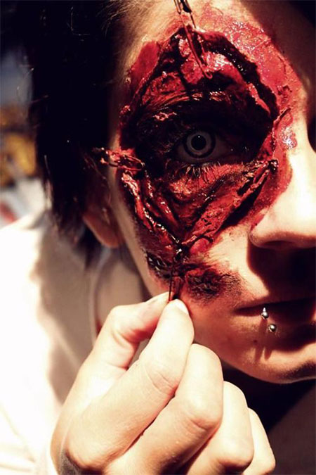 18-Very-Scary-Zombie-Makeup-Styles-Looks-Ideas-2015-For-Halloween-7