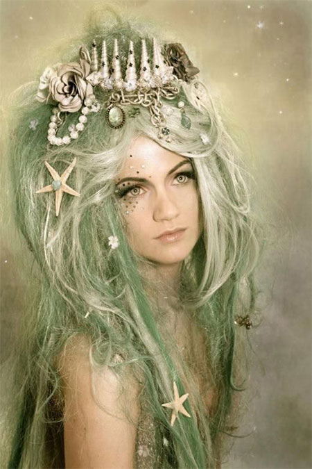 20-Crazy-Scary-Halloween-Hairstyle-Ideas-For-Kids-Girls-Women-2015-19