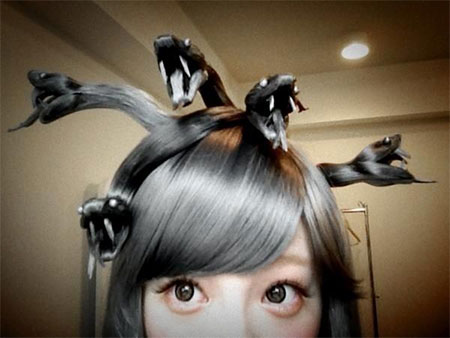 20-Crazy-Scary-Halloween-Hairstyle-Ideas-For-Kids-Girls-Women-2015-3