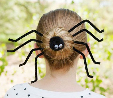 20-Crazy-Scary-Halloween-Hairstyle-Ideas-For-Kids-Girls-Women-2015-5