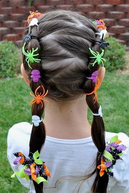 20-Crazy-Scary-Halloween-Hairstyle-Ideas-For-Kids-Girls-Women-2015-9
