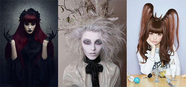 20-Crazy-Scary-Halloween-Hairstyle-Ideas-For-Kids-Girls-Women-2015-F