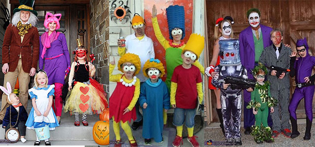 20+ Cute & Funny Family Themed Halloween Costume Ideas 2015 ...