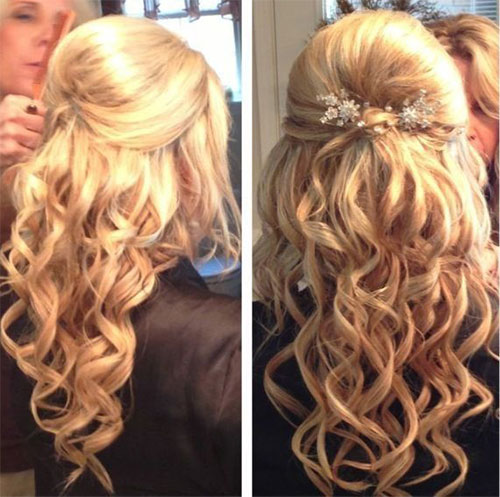 Hairstyles Xmas 2014 : 10+ Christmas Party Hairstyle Ideas & Looks 2015 Xmas Hairstyles ...