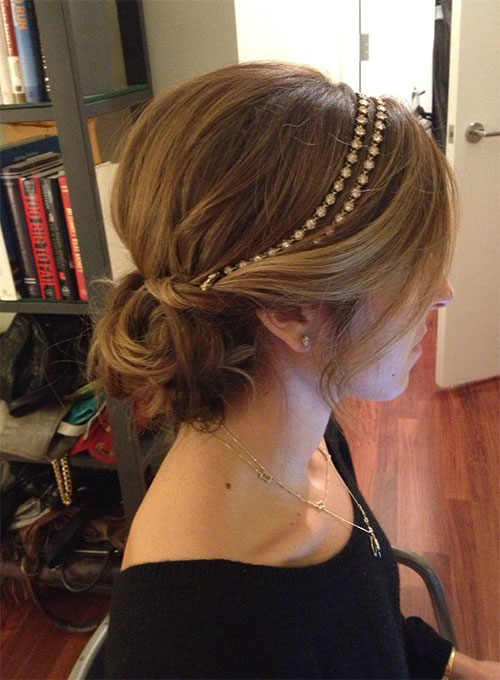 Xmas Hairstyles 2015 : 10+ Christmas Party Hairstyle Ideas & Looks 2015 Xmas Hairstyles ...
