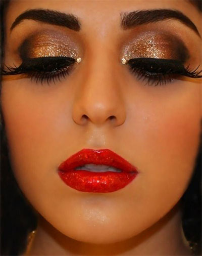 10-Christmas-Party-Makeup-Looks-Ideas-2015-Xmas-Makeup-2