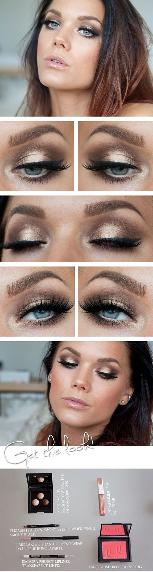 12-Easy-Simple-Fall-Makeup-Tutorials-For-Beginners-Learners-2015-13