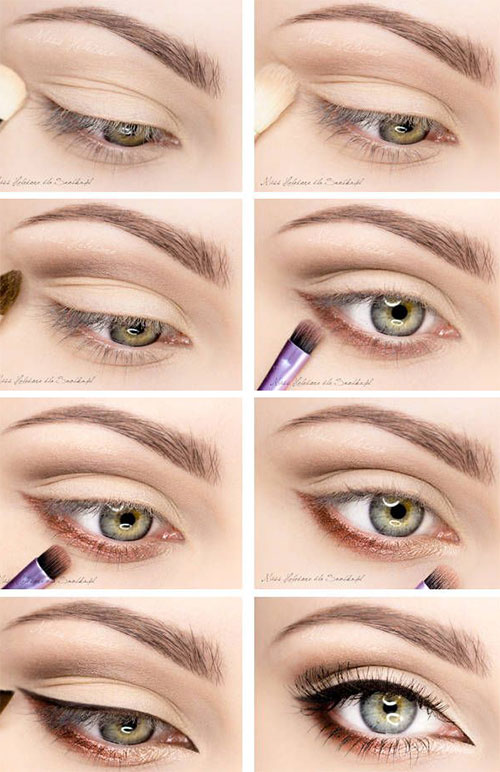 12-Easy-Simple-Fall-Makeup-Tutorials-For-Beginners-Learners-2015-7