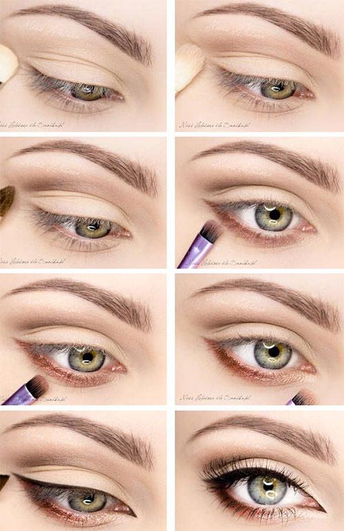 simple eye makeup tutorial | Cosmetics Pictranslator
