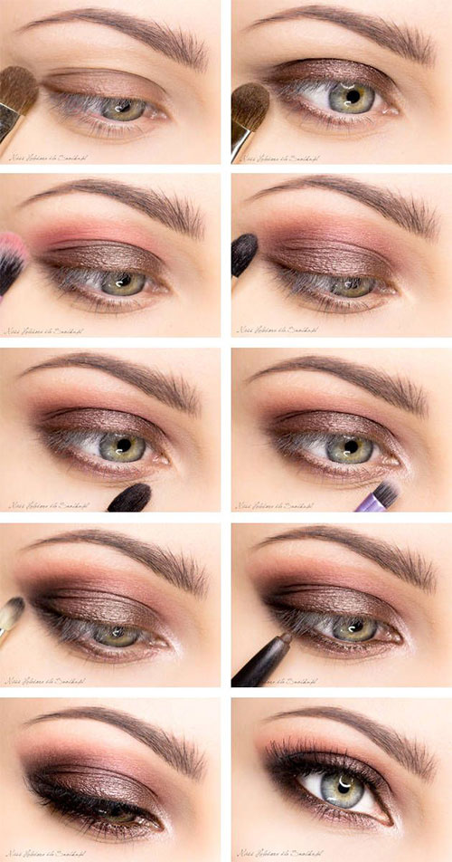12-Easy-Simple-Fall-Makeup-Tutorials-For-Beginners-Learners-2015-8