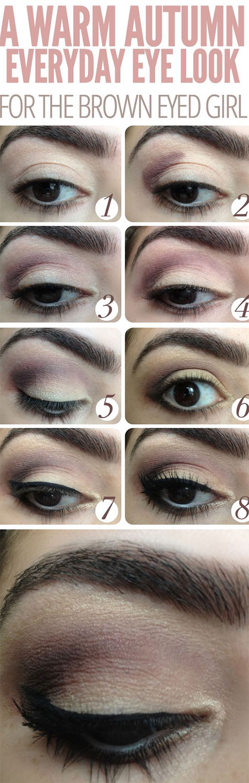 12-Easy-Simple-Fall-Makeup-Tutorials-For-Beginners-Learners-2015-9
