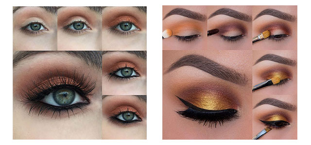 12 Easy Simple Fall Makeup Tutorials For Beginners Learners 2015 Modern Fashion Blog