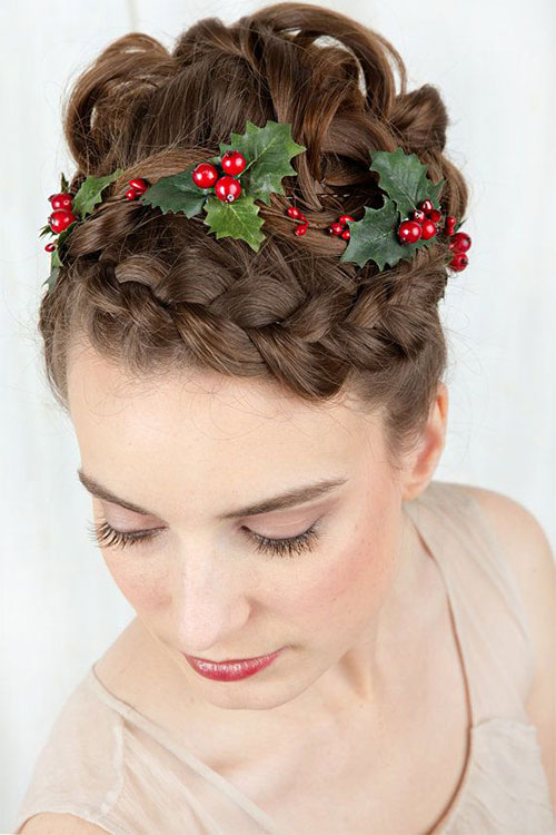 Xmas Hairstyles 2015 : ... Creative-Christmas-Themed-Hairstyle-Ideas-2015-Xmas-Tree-Hairstyles-12