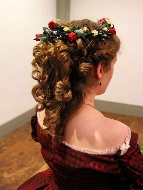 15 Creative Christmas Themed Hairstyle Ideas 2015 Xmas