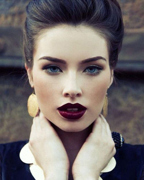 18-Best-Fall-Face-Makeup-Looks-Trends-For-Girls-Women-2015-1