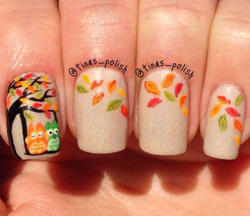 20+ Fall / Autumn Nail Art Designs, Ideas & Stickers 2015 | Modern ...