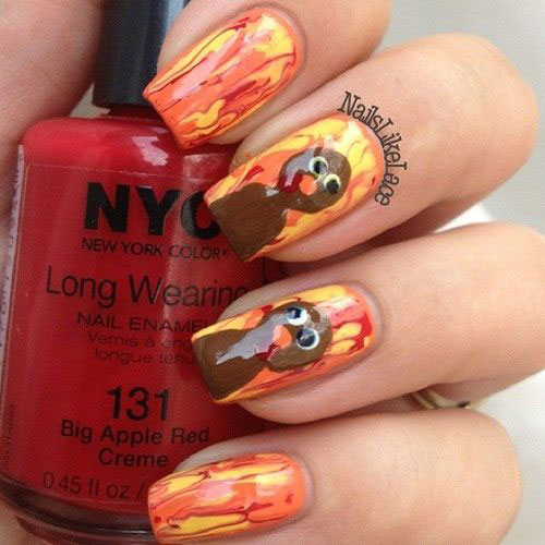 25-Inspiring-Easy Thanksgiving-Nail-Art-Designs-Ideas-Trends-2015-11