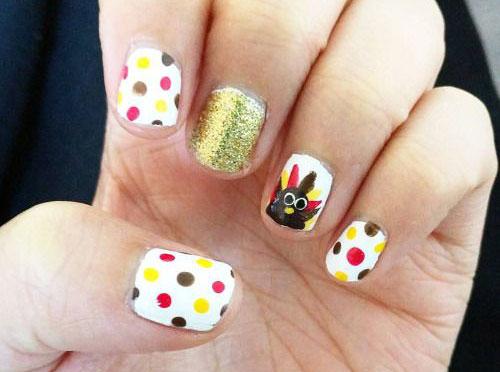 25 Inspiring Easy Thanksgiving Nail Art Designs Ideas Trends