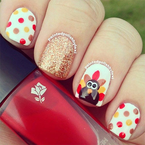 25-Inspiring-Easy Thanksgiving-Nail-Art-Designs-Ideas-Trends-2015-2