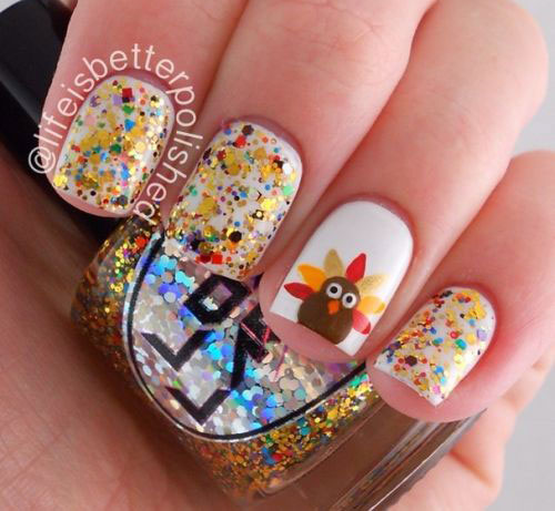 25-Inspiring-Easy Thanksgiving-Nail-Art-Designs-Ideas-Trends-2015-3