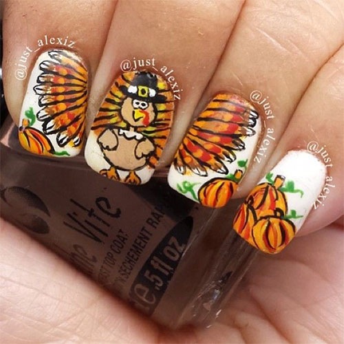 25-Inspiring-Easy Thanksgiving-Nail-Art-Designs-Ideas-Trends-2015-4