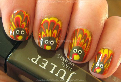 25-Inspiring-Easy Thanksgiving-Nail-Art-Designs-Ideas-Trends-2015-5