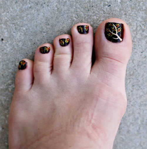Autumn-Fall-Toe-Nail-Art-Designs-Ideas-Trends-Stickers-2015-5