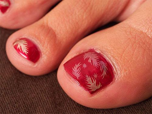 Autumn-Fall-Toe-Nail-Art-Designs-Ideas-Trends-Stickers-2015-6