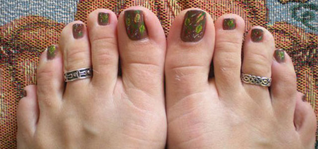 Autumn-Fall-Toe-Nail-Art-Designs-Ideas-Trends- - Autumn / Fall Toe Nail Art Designs, Ideas, Trends & Stickers 2015