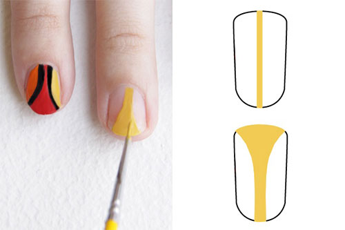 Simple-Thanksgiving-Nail-Art-Tutorials-For-Beginners-Learners -2015-8