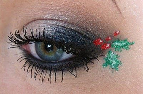 10-Best-Christmas-Eye-Makeup-Looks-Ideas-Styles-2015-3