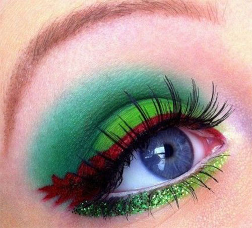 10-Best-Christmas-Eye-Makeup-Looks-Ideas-Styles-2015-7