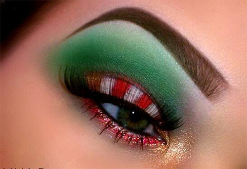 10-Best-Christmas-Eye-Makeup-Looks-Ideas-Styles-2015-9
