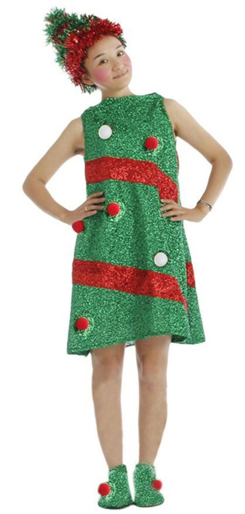 10-Christmas-Tree-Costumes-For-Kids-Girls-2015-Xmas-Outfits-6