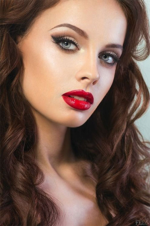 12-Christmas-Themed-Makeup-Looks-Ideas-For-Girls-Women-2015-13